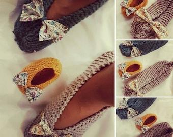 Items similar to Shark slippers crochet pattern