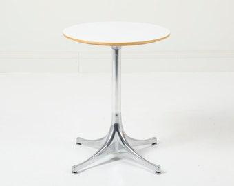 Vintage George Nelson Herman Miller Pedestal Side Table