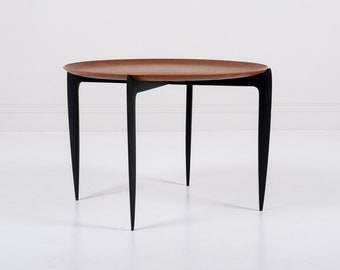 Willumsen & Engholm Folding Tray Table by Fritz Hansen - 1958