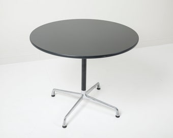 """36"""" Herman Miller Eames Aluminum Group Dining Table"""