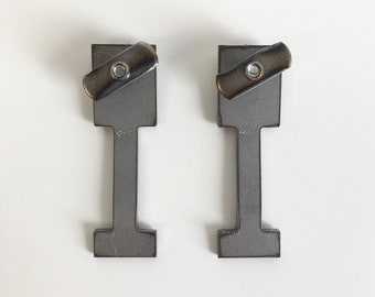 Pair of George Nelson CSS Shelf Clips (reproduction)