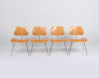 Herman Miller Eames DCM Chairs - Set of 4