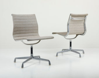 SOLD - Vintage Heman Miller Eames EA105 Aluminum Group Chair