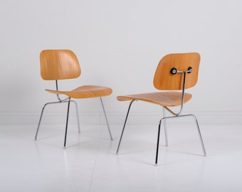 Set of 4 Herman Miller Eames DCM Chairs