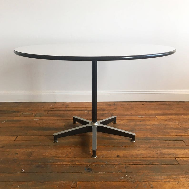Stupendous Vintage Herman Miller Eames 650 Dining Table Download Free Architecture Designs Scobabritishbridgeorg