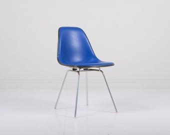 Vintage Herman Miller Eames DSX Fiberglass Padded Shell Chair