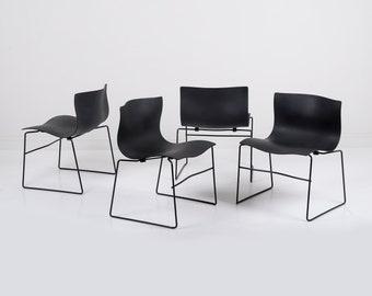 Massimo Vignelli Knoll Handkerchief Chairs - Set of 4