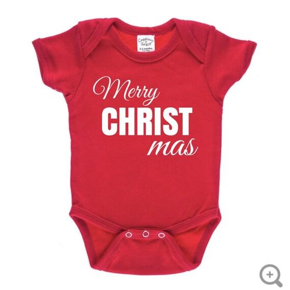 1696cd877 Merry Christmas Baby Onesie Funny Baby Onesie Cute Baby