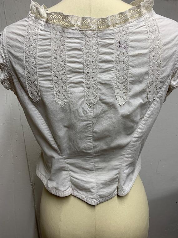 Victorian corset cover
