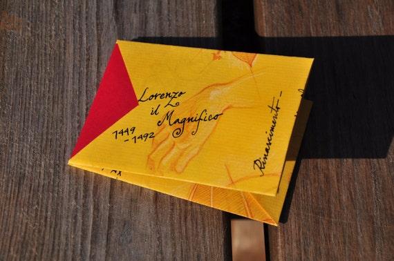 Firenze Handmade Origami Card Holder Etsy