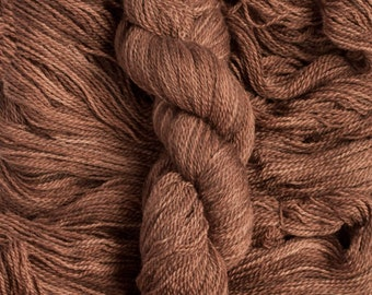 """Oriole """"Hickory"""" – 21.5 micron wool/baby alpaca,(70/30), 400  yards, 100 grams, 2 ply, milled in South America, non SW"""