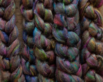 Dyed Spinning Fibre
