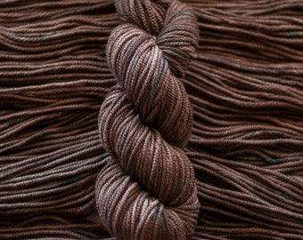 "Loon ""Forest Floor"" -  100% 19.5 micron wool, bulky, 100 yards, 100 grams, 8 ply, non SW"