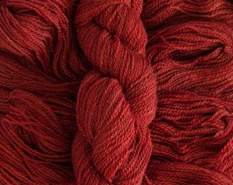 """Tern DK """"Sumac"""" - BFL/Masham (75/25) Dk weight yarn, 260 yards, 100 grams, 2 ply, non-superwash"""