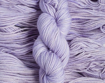 "Curlew ""Wisteria"" 100% merino wool yarn, bulky weight, 105 yards, 100 grams, 2 ply, non-superwash"