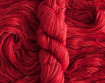 """Siskin """"Ancho"""" Hand dyed Superwash Merino Sock yarn (80 merino/20 nylon), 425 yards/115 grams"""