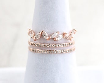 NEW* Marquise Line Ring, Dainty, Delicate, Free Size Ring, Adjustable rings for women, For Her, Gift for Girlfriend Wife Women