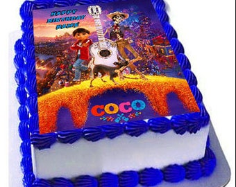COCO Edible Cake Topper BirthdayEdible Imagepicture Cakefrosting Sheet