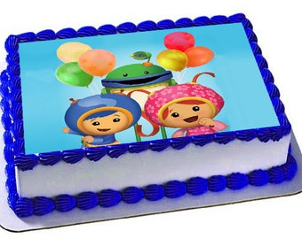Umizoomi Frosting Sheet Birthday Umizoomie Cake Topper PartyEdible