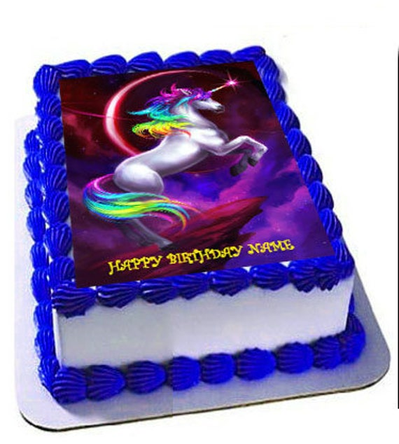 Unicorn Edible Frosting SheetUnicorn BirthdayEdible Cake