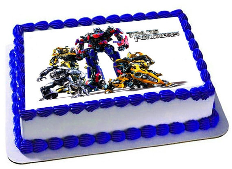 Transformers Cake Topper Birthday Party