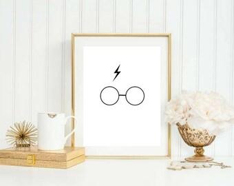 Harry Potter Digital Download Print » Movie Print » Office Print » Harry Potter Print » Digital Print