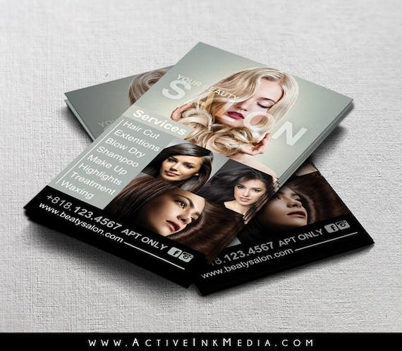 Hair Stylist Business Cards Business Card Design Stylist ...