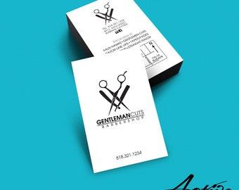 Business card design barber business card salon stylist business card design barber salon stylist hairdresser barbershop branding colourmoves