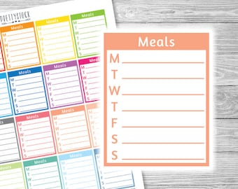 weekly expenses stickers expenses tracker stickers printable etsy