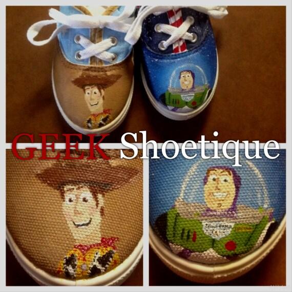 Toy Toy Toy Story inspiré des chaussures personnalisées peint 0f6ba7