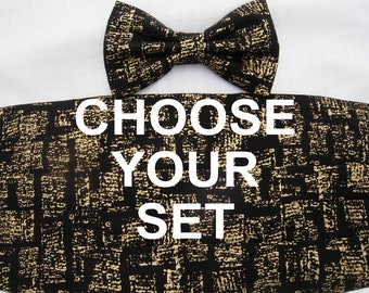 Create Your Own Bow Tie & Cummerbund Set | Wedding bow ties | Cummerbund sets | Bow ties for men | Choose from the bow ties in our store!