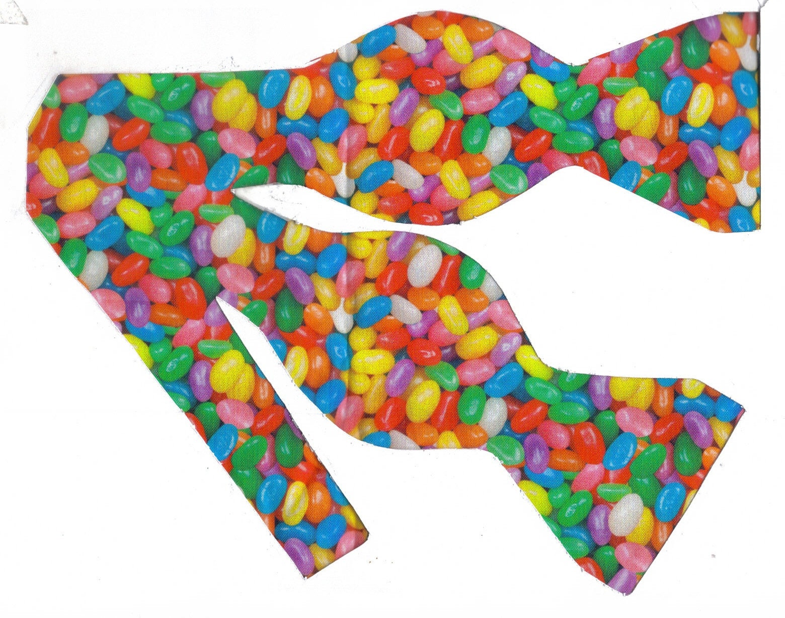 Easter Bowtie Boys Jelly Beans Clip On Cotton Bow Tie St