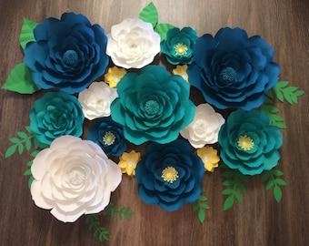 16 piece flower set