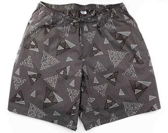 Khushi Men's Shorts - Brown Angles