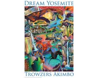 Yosemite Poster - A Dream of Yosemite