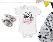 I'm So Eggstra, Infant Easter Onesie, Bunny Easter Onesie, Baby Easter Onesie, Funny Kids Easter Shirt, Cute Easter Onesie, Bella Canvas,