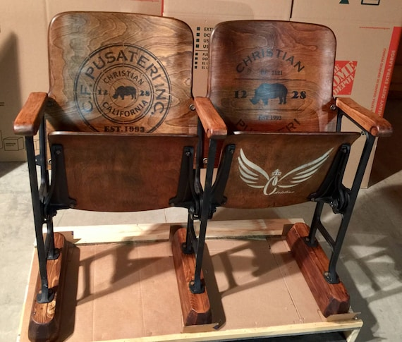 image 0 - SOLDAccepting Custom OrdersWood Bench Seat With Back Vintage Etsy