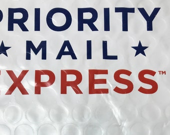 Upgrade to EXPRESS MAIL or Priority Mail.   ADD On listing