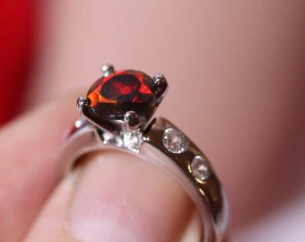 Natural opal ring, black opal ring, opal engagement ring, genuine opal, one of a kind ring, opal Jewelry, fire opal ring, wedding rings