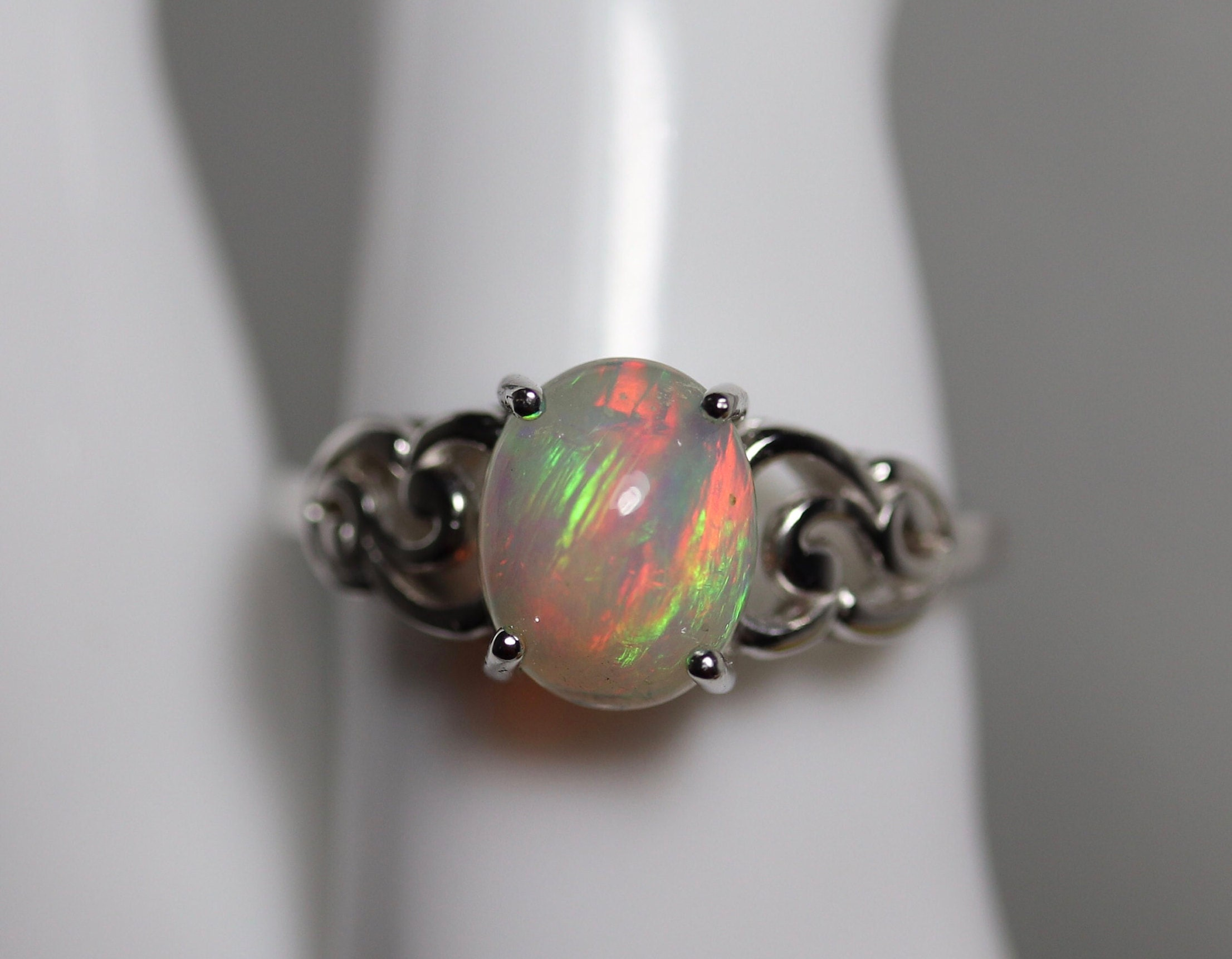 ... antique jewelry, authentic opal, birthday gift. 1