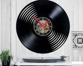Schallplatten uhr | Etsy
