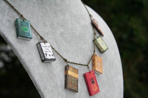 Classic Novel Necklace Large