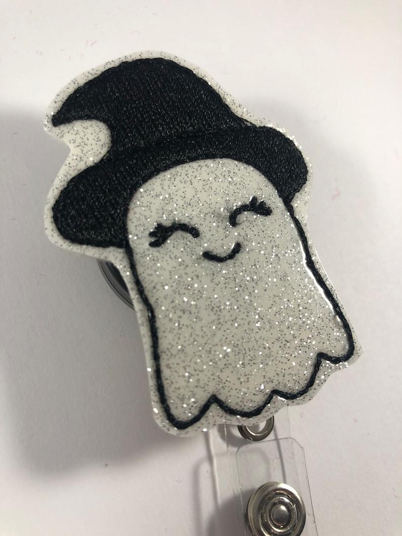 Badge Reel Nurse Badge Reel Ghost Badge Halloween Badge Reel Cute badge Reel Badge Holder Office Badge Reel Cute Ghost Badge Reel