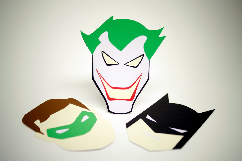 The Joker Greeting Card Etsy