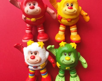 Build Your Own Lot: 80s Rainbow Brite Light Up Sprite Toys