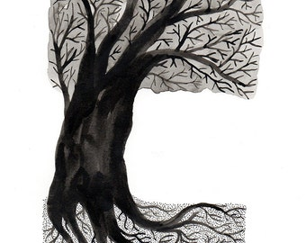 Giclée print, 'Tree of Life'