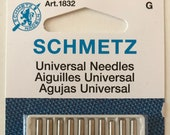 Schmetz 10 pk. Universal Sewing Machine Needles, Assorted Sizes