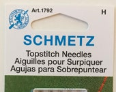 Schmetz Topstitch Sewing Machine Needles, Assorted Sizes