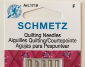 Schmetz Quilting Needles, Sewing Machine Needles, Assorted Sizes