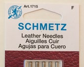 Schmetz Leather Sewing Machine Needle 90/14 Article 1715